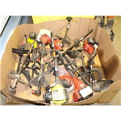PALLET OF STORE RETURN WEED-WHACKER PARTS & MOTORS