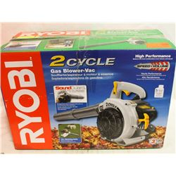 RYOBI 2-CYCLE GAS POWERED BLOWER-VAC