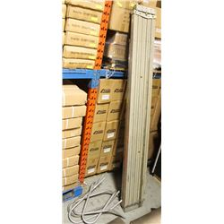 TWO ALUMINUM 7 FT (EXTENDS TO 11 FT) AND