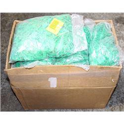 LARGE BOX OF PLASTIC PADLOCK PP-2 SEALS (GREEN)