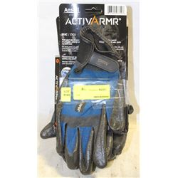 GROUP OF 5 NEW ANSELL ACTIVARMR H-VAC GLOVES