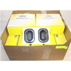 11 BOXES OF EARMUFF CUSHIONS