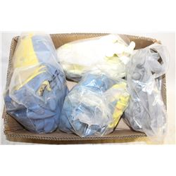 FLAT OF ASSORTED STYLES OF GLOVES