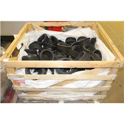 "PALLET OF 6"" RUBBER PVC PIPE BUSHINGS"