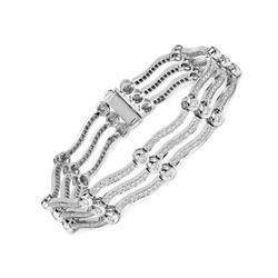 2.43 CTW Diamond Bracelet 14K White Gold - REF-320X8R