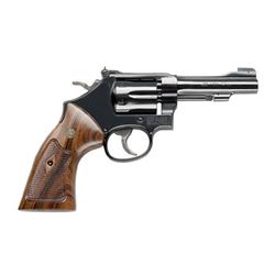 """S& W 48 22WMR 4"""" 6RD BL WD AS"""