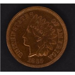 1865 INDIAN CENT, CH BU RED