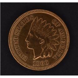 1866 INDIAN CENT, CH AU