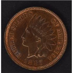 1885 INDIAN CENT, CH BU++ KEY DATE