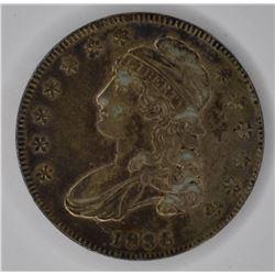 1836 BUST HALF DOLLAR, CH XF