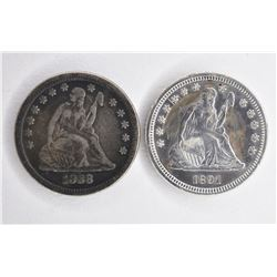 SEATED QUARTERS: