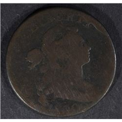 1800 LARGE CENT, G/VG big rim cud