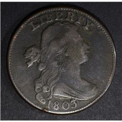 1803 LARGE CENT, VF