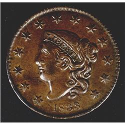 1833 LARGE CENT N-6 AU NICE