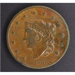 1835 LARGE CENT, VF+