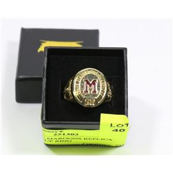 MONTREAL MAROONS REPLICA  STANLEY CUP RING