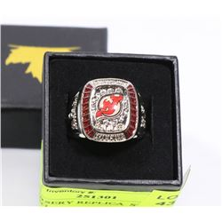NEW JERSERY REPLICA  STANLEY CUP RING