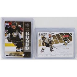 LOT OF 2 SIDNEY CROSBY CARDS