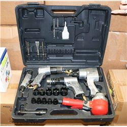 AIR TOOL SET, INCLUDES SOCKETS AND EXTENSION