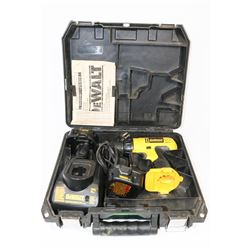 DEWALT CORDLESS DRILL 12V WITH 2 BATTERIES AND
