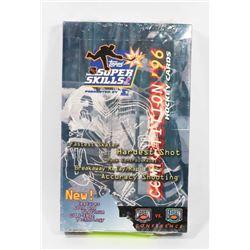 1996 TOPPS HOCKEY SUPER SKILLS FACTORY SEALED BOX