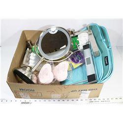 BOX W/TWO CUISINART PLUSH FLOOR MATS,
