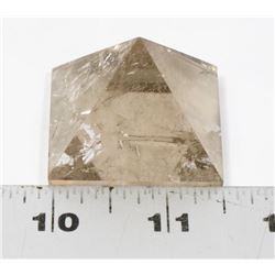 QUARTZ CRYSTAL HEALING PYRAMID