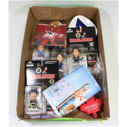 ESTATE FLAT OF HOCKEY COLLECTIBLES GRETZKY