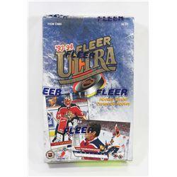 1993-94 FLEER ULTRA HOCKEY FACTORY SEALED, SERIES