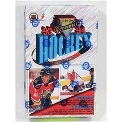 1993-94 O-PEE-CHEE PREMIER HOCKEY FACTORY SEALED