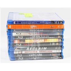 BUNDLE OF 11 BLU-RAY DVD MOVIES -