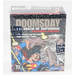SKYBOX DOOMSDAY DEATH OF SUPERMAN, FACTORY