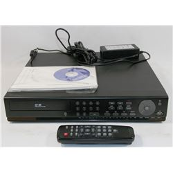H.264 VIDEO COMPRESSION DIGITAL VIDEO RECORDER W/