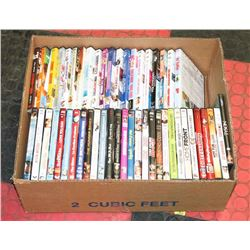 BOX W/OVER 50 DVD MOVIES INCL. SONS OF