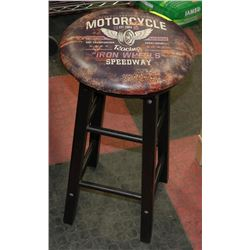 MOTORCYCLE THEMED STOOL