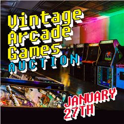 STAY TUNED FOR KASTNER AUCTIONS ARCADE AND