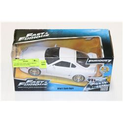 1:24 DIECAST FAST AND FURIOUS BRIAN'S TOYOTA SUPRA