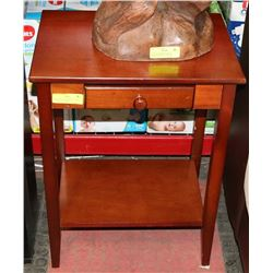 """END TABLE W/ DRAWER 13"""" WIDE X 18"""" LONG X 24"""" HIGH"""