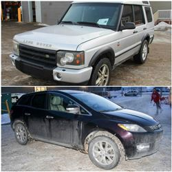 FEATURED 2004 LANDROVER & 2009 MAZDA CX-7