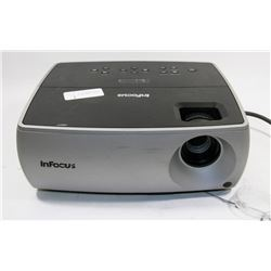 INFOCUS PROJECTOR W ONLY 63 HOURS ON LAMP