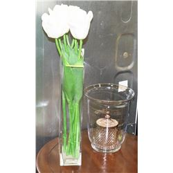 LOT OF 2 SHOW HOME VASES