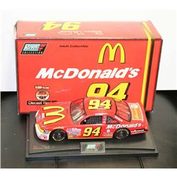 MCDONALDS LIMITED EDITION 1:18 REVELL NASCAR