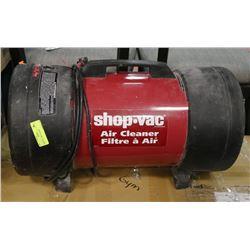 SHOP VAC AIR CLEANER