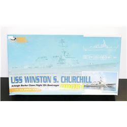 1:35 USS WINSTON CHURCHILL DESTROYER UNBUILT