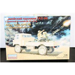 1:35 GAZ ARMY TRUCK MODE KIT UNBUILT