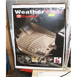 NEW WEATHERTECH FLOOR LINERS