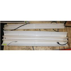 PAIR OF FLUORESCENT PLANT/AQUARIUM LIGHT FIXTURES.