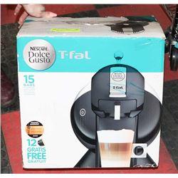 NESCAFE T-FAL COFFEE MAKER, NEW IN BOX
