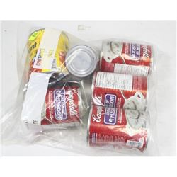 BAG OF ASSORTED SOUPS