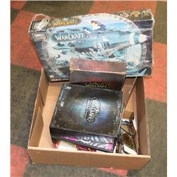 FLAT OF WORLD OF WARCRAFT COLLECTIBLE CARDS,